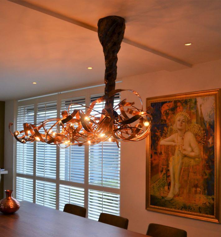 Kroonjuweel-Hanglamp-Asymmetrisch-Koper