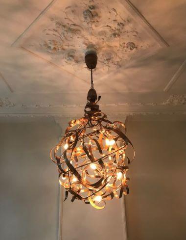Kroonjuweel-Hanglamp-Druppel-Koper