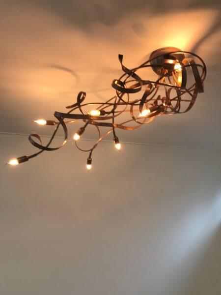 Kroonjuweel-plafondlamp-Asymmetrisch-Koper