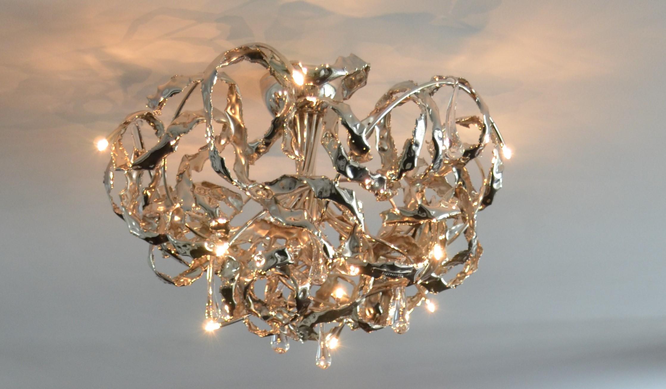 Kroonjuweel-plafondlamp-Crudo-Nikkel