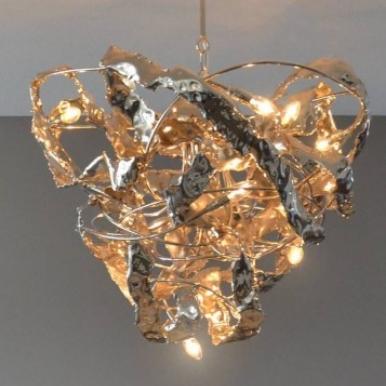 Kroonjuweel videlamp Crudo2 nikkel